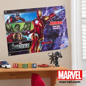 Personalized Marvel Avengers Posters - 12097