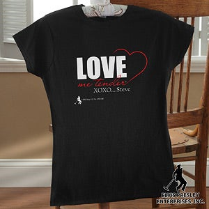 Personalized Elvis Apparel - Love Me Tender - 12106