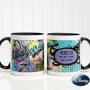 Personalized Disney Coffee Mugs - Ursula from The Little Mermaid - 12116