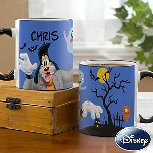 Disney Personalized Goofy Coffee Mug - Halloween - 12123