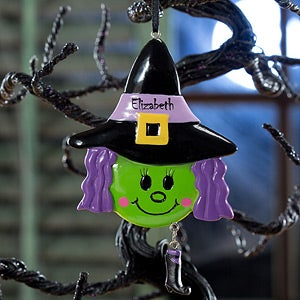 Personalized Ornaments - Lil' Witch - 12154