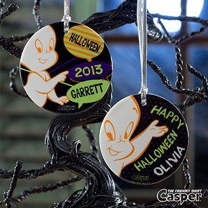 Personalized Halloween Ornaments - Casper The Friendly Ghost - 12187