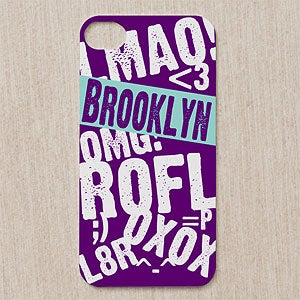 Personalized iPhone Cases - Text Message - 12201