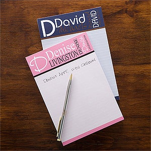 personalized stationery notepads personally yours