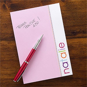 Personalized Kids Notepads for Girls - 12212