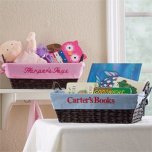 Personalized Kids Storage Baskets - 12252