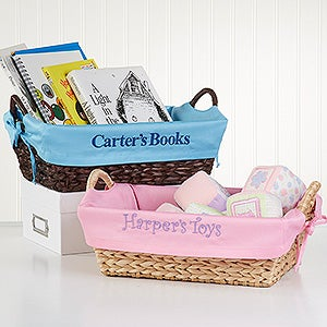 Personalized Kids Storage Baskets   12252