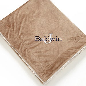 Personalized Sherpa Blankets - Initially Yours - 12255