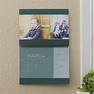 Personalized Photo Wall Calendar - Picture Perfect - 12265