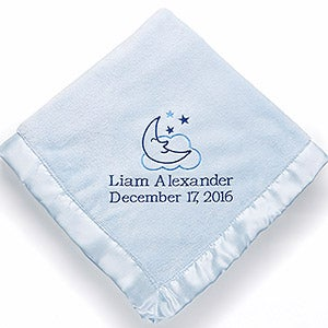 Personalized Baby Blankets for Boys - Baby Love - 12287