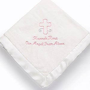 Personalized Baby Blankets - God Bless Baby - 12288
