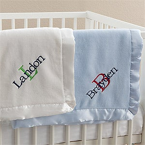 Personalized Baby Blankets for Boys - All About Me