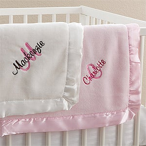 Personalized Baby Blankets For Girls All About Me