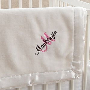 Personalized Baby Blankets for Girls - All About Me - 12290