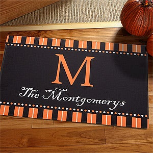 Personalized Halloween Doormat - Halloween Spirit - 12297