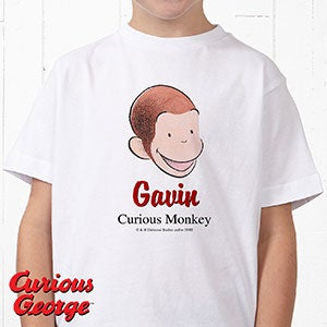 Personalized Curious George Kid's Clothes - 12317