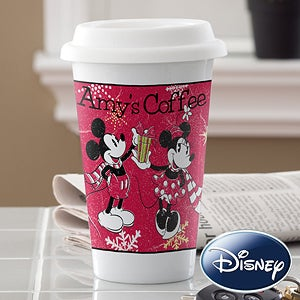 Personalized Mickey Mouse & Minnie Mouse Disney Tumbler - 12330