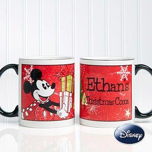 Personalized Mickey Mouse Christmas Coffee Mug - 12332
