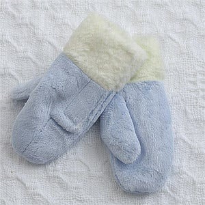 Boys Winter Baby Mittens - Blue - 12341
