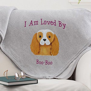 Personalization Mall Personalized Blankets for Dog Owners - Dog Breeds at Sears.com
