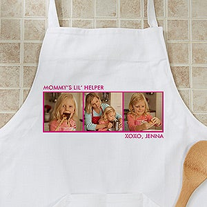 Personalized Photo Aprons & Potholders - 12384