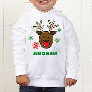 Personalized Kids Christmas Clothing - Reindeer - 12385