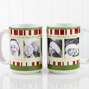 Personalized Christmas Photo Coffee Mugs - 12409