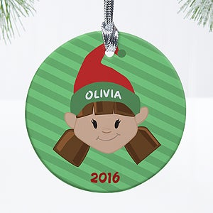 Personalized Christmas Ornaments - Christmas Characters - 12411