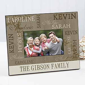 Personalized Photo Frames - Our Loving Family - 12416