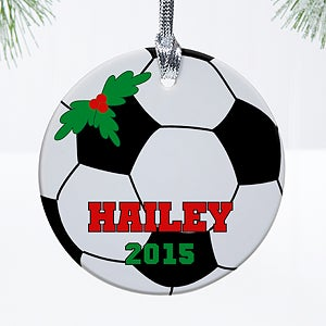 Personalized Christmas Ornaments - Kids Sports - 12422
