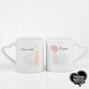 Personalized Couples Coffee Mugs Set - Precious Moments - 12512
