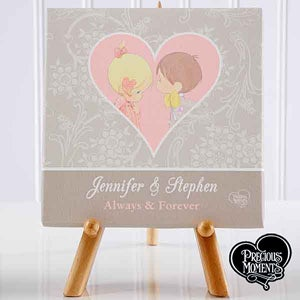Personalized Canvas Art for Couples - Precious Moments - 12515