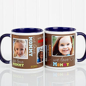 Personalized Ladies Photo Coffee Mug - Loving You - 12536