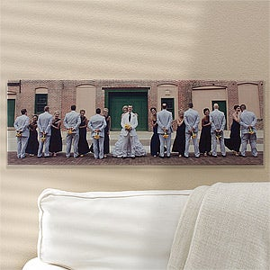 Personalized Panoramic Photo Canvas Prints - 12539