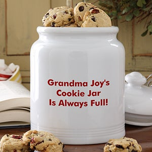 Personalized Cookie Jars - Your Name It - 12542