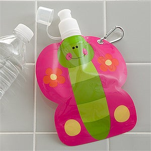 Reusable Drink Pouch for Girls - Butterfly - 12550