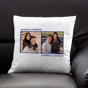 Personalized Photo Throw Pillows - 12552
