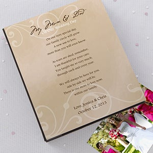 Personalized Wedding Photo Album for Parents - 12568