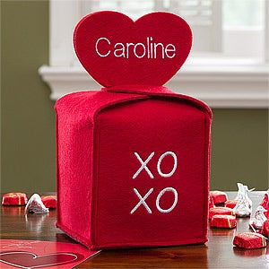 Personalized Valentine's Day Treat Bag - XOXO - 12574