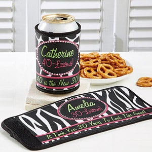 Personalized Beer Can & Bottle Wraps - Flirty-Licious - 12578