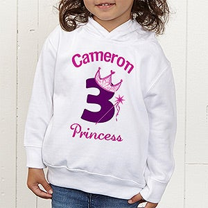 Personalized Princess Birthday Apparel for Girls - 12583