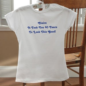 Personalized Birthday Clothing - Birthday Greetings - 12599