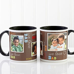 Personalized Men Photo Coffee Mug - Loving You - 12605