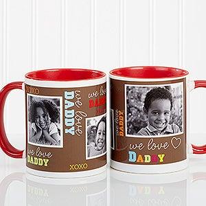 Personalized Men Photo Coffee Mug - Loving You - 12605