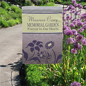 Personalized Garden Flags - Memorial Garden - 12643