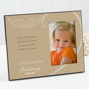 A Moment in Life Personalized Memorial Frame