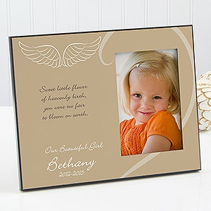 Personalized Kids Memorial Photo Frame - A Moment In Life - 12653