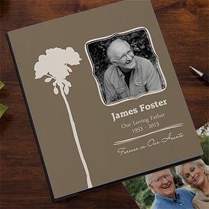 Personalized Memorial Photo Albums - 12658