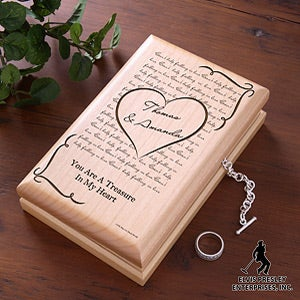 Personalized Jewelry Box - Elvis Can't Help Falling In Love - 12668