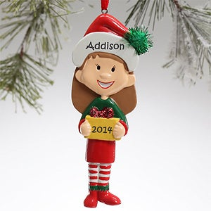 Big Sister Personalized Christmas Ornaments - 12681